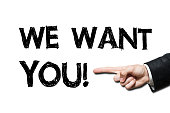 we want YOU! / Felt tip pen concept (Click for more)