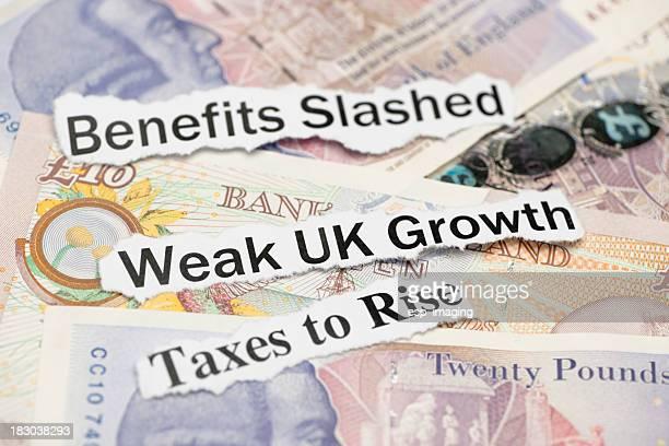 Weak UK Growth and other economy topics
