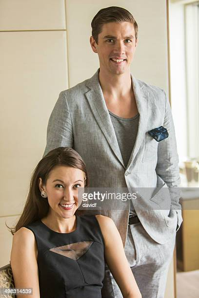 Wealthy Couple Portrait