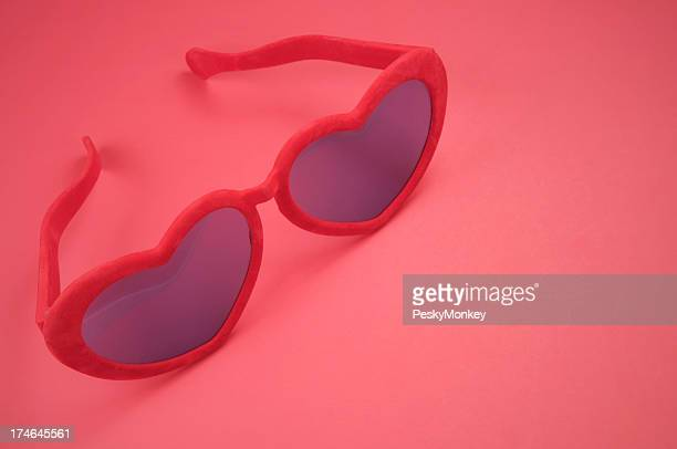 I Wear My Sunglasses on Red