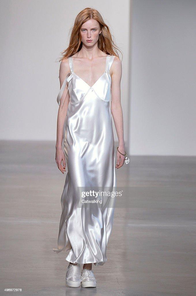 Galerry dress slip at fashion show