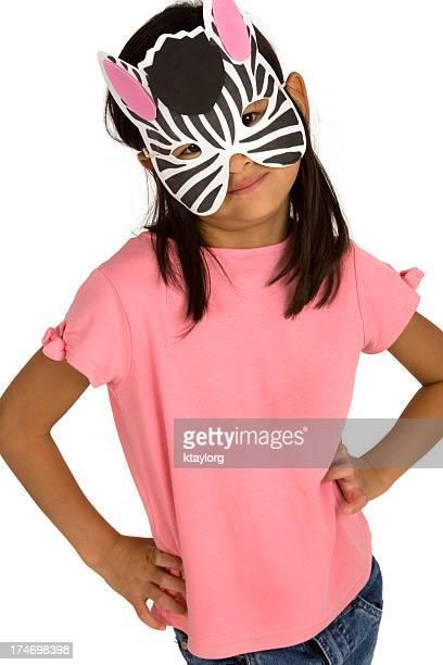 ゼブラマスクを着
