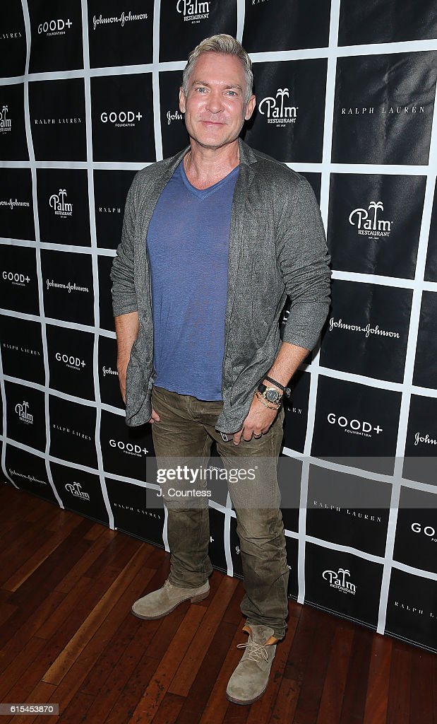 Weather Anchor Sam Champion attends the 2016 Foundation Good+ New York Fatherhood Luncheon at The Palm Tribeca on October 18, 2016 in New York City.