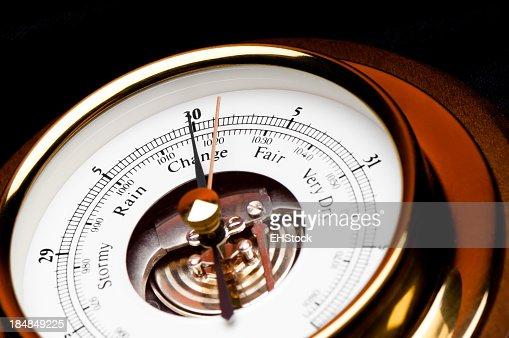 Weather Barometer Gauge