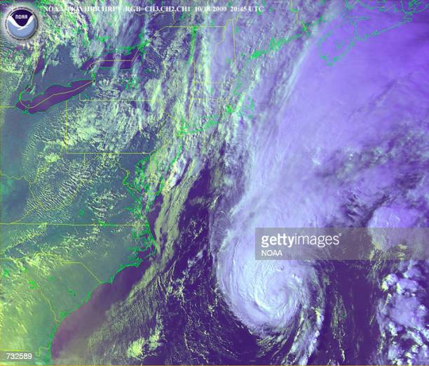Weather forecasters predict Hurricane Michael will travel through the north Atlantic and is expected to begin losing steam over cooler waters Barely...
