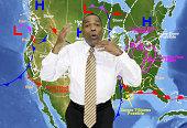 Weather presenter