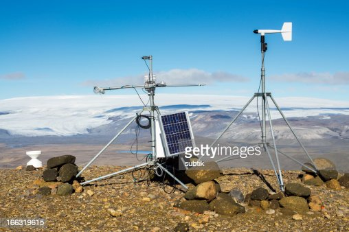 weather station in iceland
