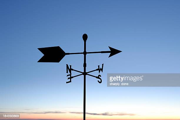 XXL weather vane silhouette