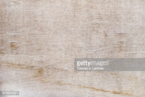 Weathered and cracked plywood