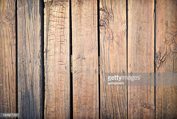 Weathered and Rough Old Wooden Planks