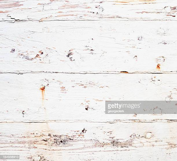 Weathered and Rusty Painted Wooden Texture