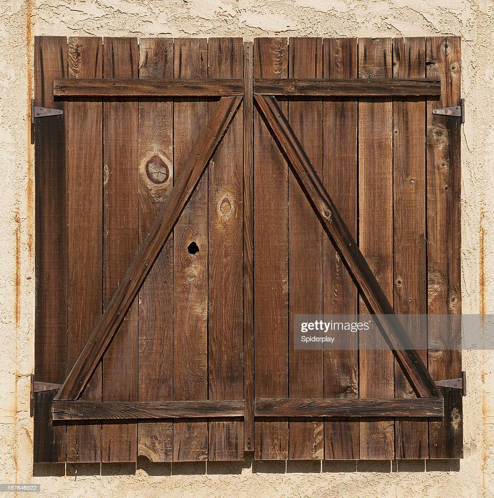 Vieilli Porte de grange : Photo