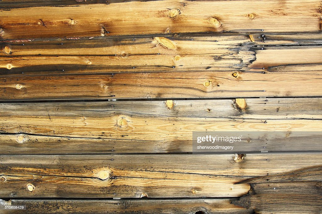 Weathered pine cabin siding wood background horizontal for Horizontal wood siding