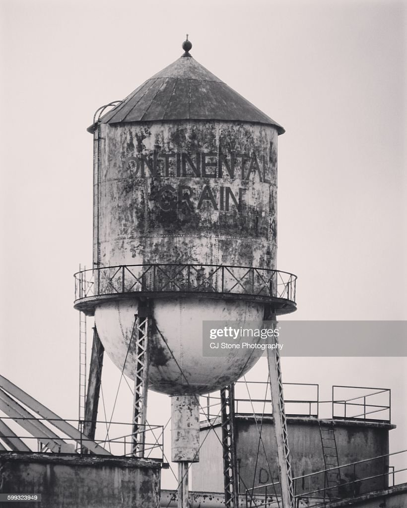 Weathered Water Tower