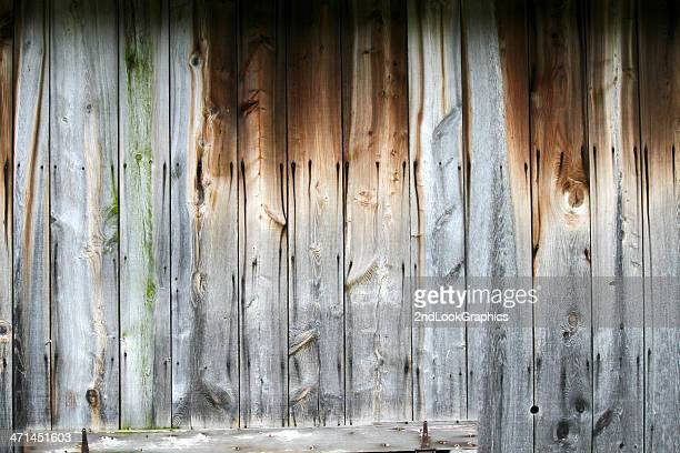 Weathered Wood Barn Wall