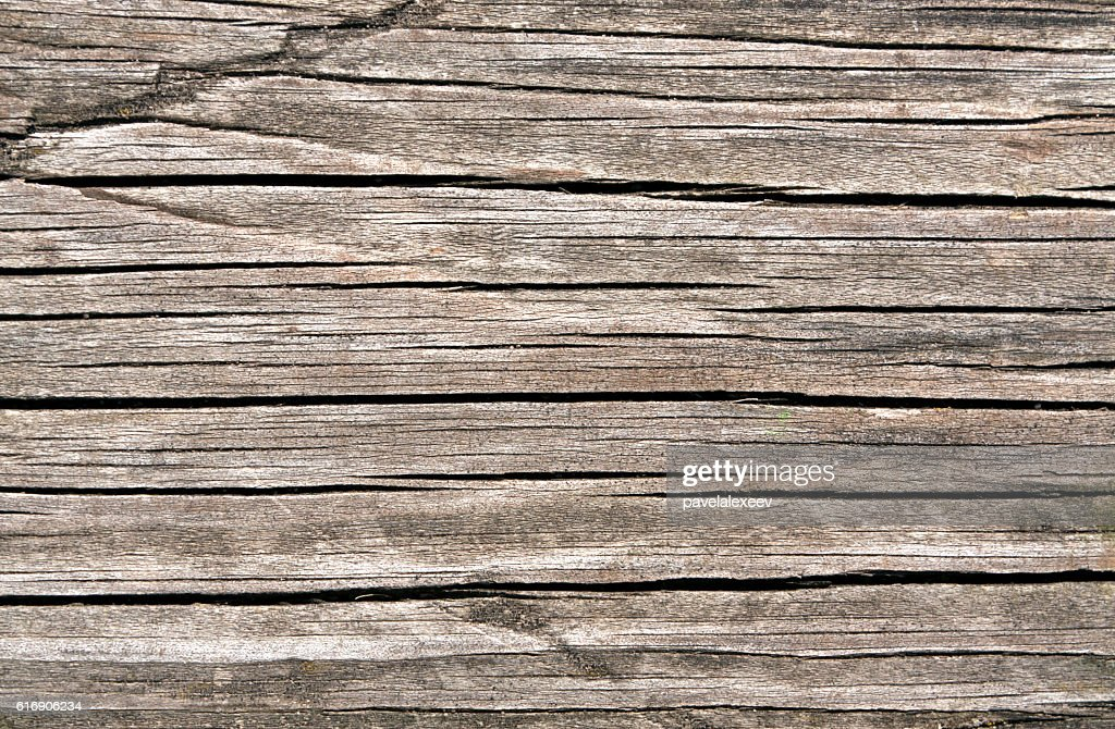 Weathered wooden board texture : Stock Photo