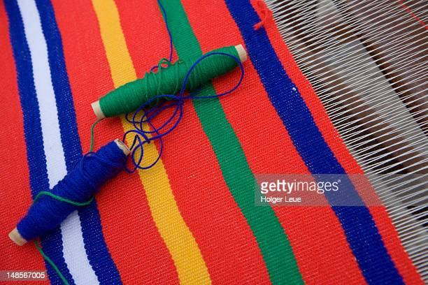 Weaving detail at Columbus Festival.