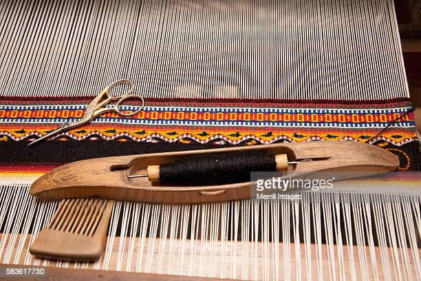 Weaving loom, Oaxaca, Mexico