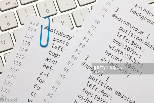 Web code on keyboard