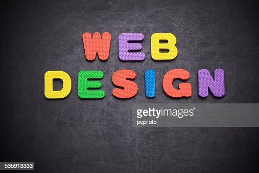 Web Design : Foto de stock