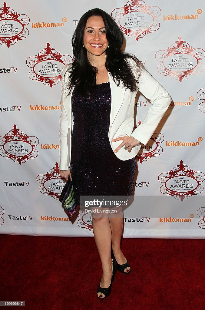 Web host Carolyn Scott-Hamilton attends the 4th Annual Taste Awards at Vibiana on January 17, 2013 in Los Angeles, California.