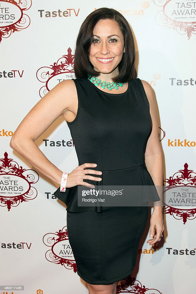 Web host Carolyn Scott-Hamilton attends the 5th Annual Taste Awards at the Egyptian Theatre on January 16, 2014 in Hollywood, California.