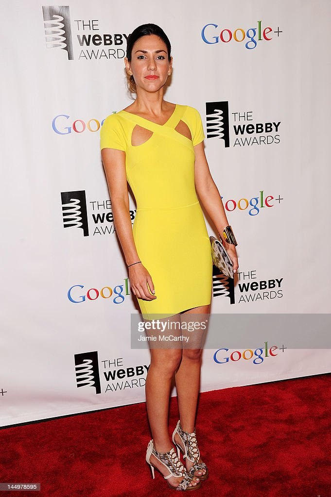 Web Personality Sonia Gil attends the 16th Annual Webby Awards on May 21, 2012 in New York City.