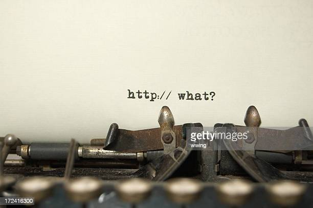 Web Site Question on antique typewriter