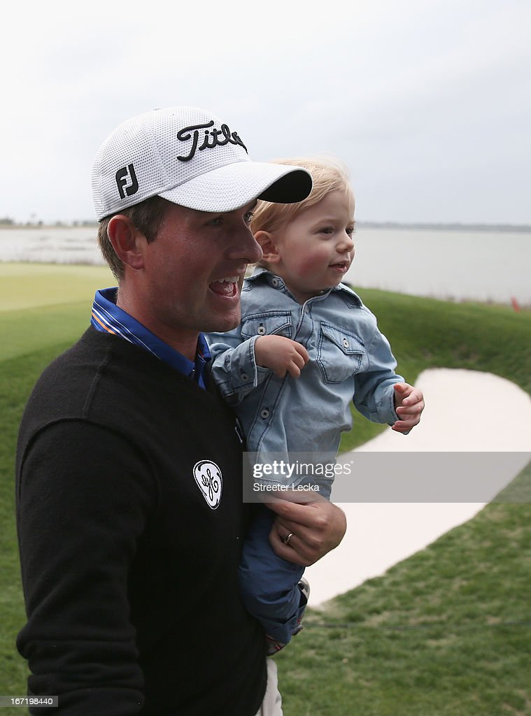 <a gi-track='captionPersonalityLinkClicked' href=/galleries/search?phrase=Webb+Simpson&family=editorial&specificpeople=4466575 ng-click='$event.stopPropagation()'>Webb Simpson</a> during the final round of the RBC Heritage at Harbour Town Golf Links on April 21, 2013 in Hilton Head Island, South Carolina.