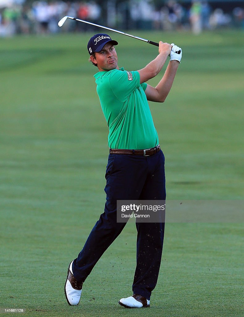 Webb Simpson of the USA in action during the pro-am as a preview for the 2012 Arnold Palmer Invitational presented by MasterCard at Bay Hill Club and Lodge on March 21, 2012 in Orlando, Florida.