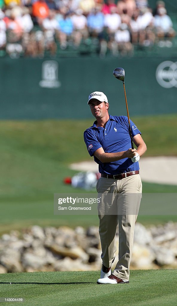 <a gi-track='captionPersonalityLinkClicked' href=/galleries/search?phrase=Webb+Simpson&family=editorial&specificpeople=4466575 ng-click='$event.stopPropagation()'>Webb Simpson</a> plays a shot during the first round of the Arnold Palmer Invitational presented by MasterCard at the Bay Hill Club and Lodge on March 22, 2012 in Orlando, Florida.