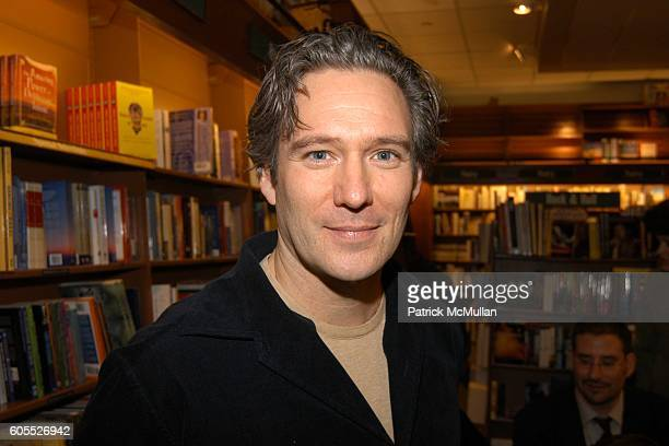 Webb Stone attends Matthew Modine Book Signing for FULL METAL JACKET DIARY at Barnes Noble Book Store on January 4 2006 in New York City