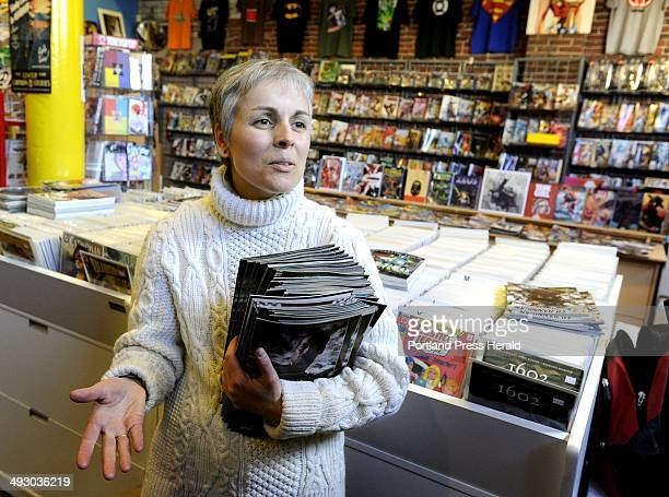 Wed Laura O'Meara is coowner of Casablanca Comics in Portland is among bookstore owners and patrons to give thier views about the new ipad