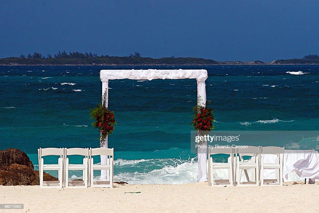 Wedding Altar at the Beach