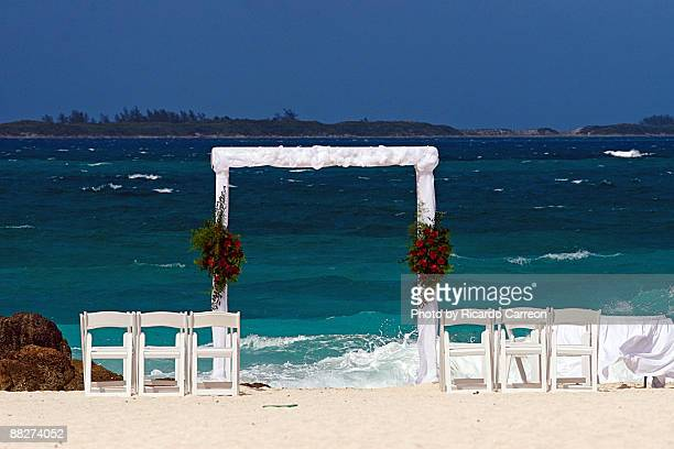 Wedding Altar at the Beach