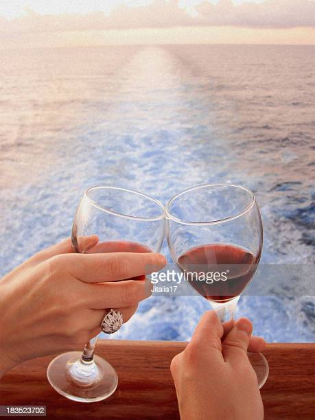 Wedding at Sea - Wine and Diamonds