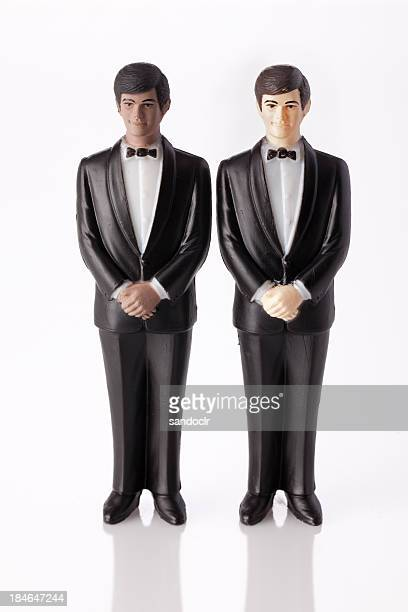 Wedding cake topper - Two Grooms.
