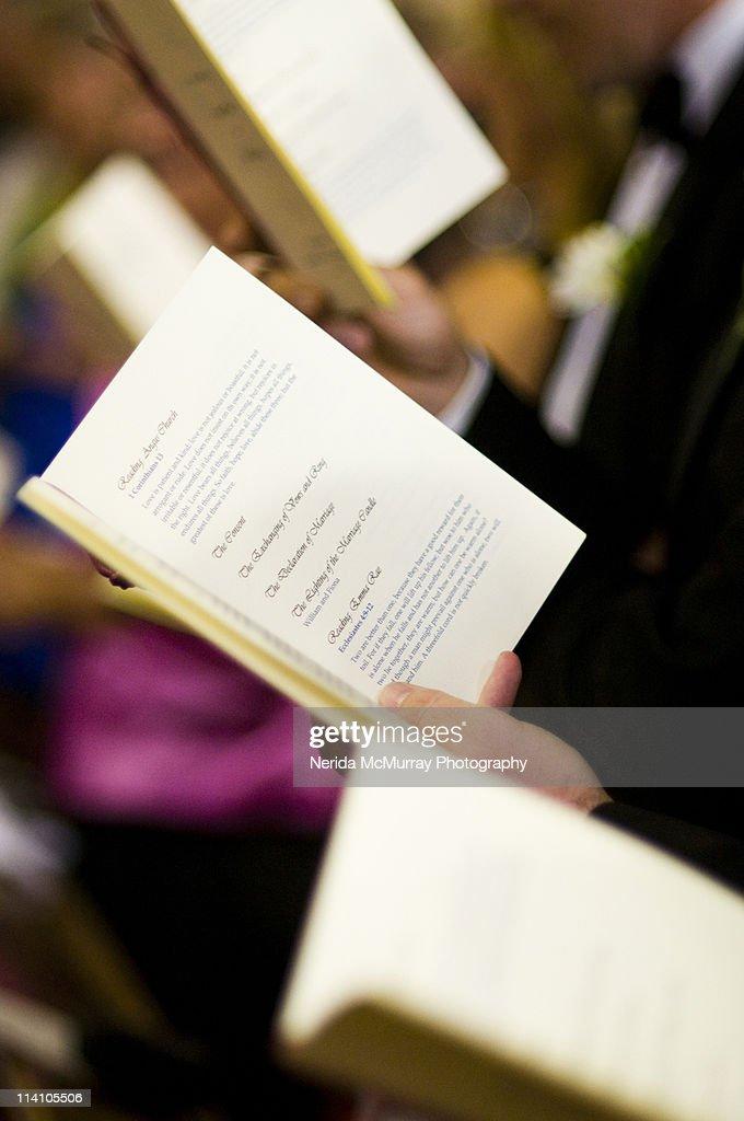 Wedding ceremony hymns