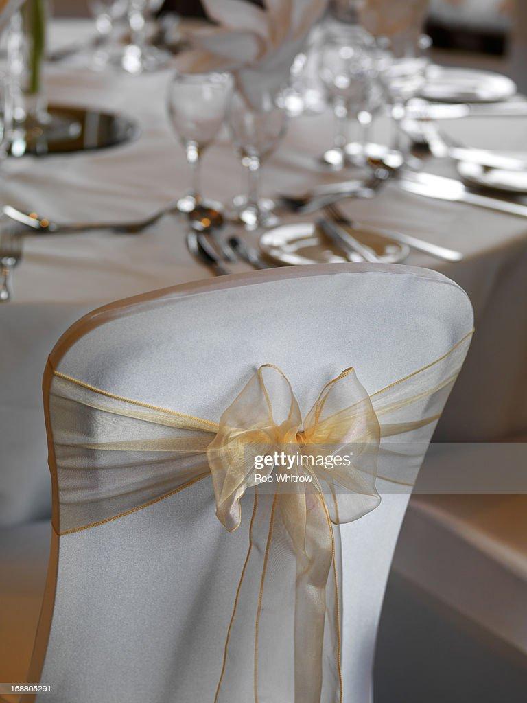 Wedding Chair : Stock Photo