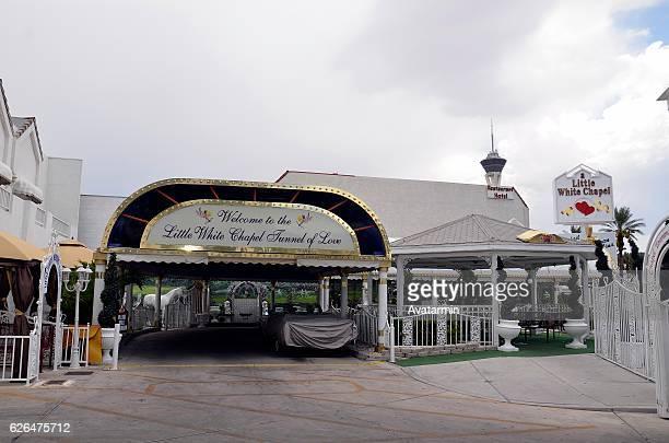 wedding chapel at Las Vegas - Nevada - USA
