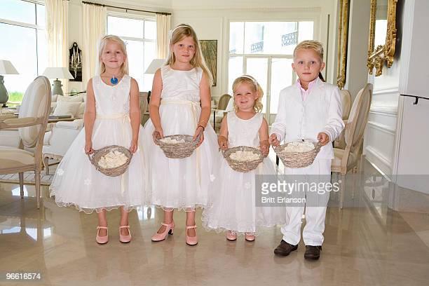 wedding children portrait