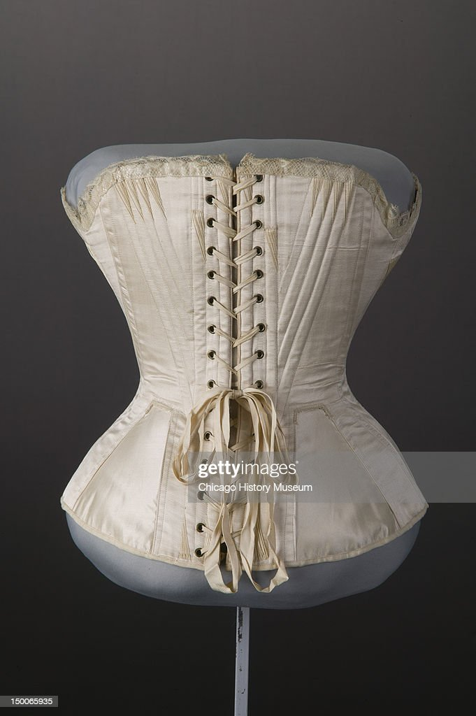 Wedding corset 1874