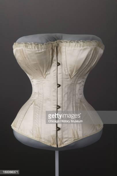 Wedding corset 1874