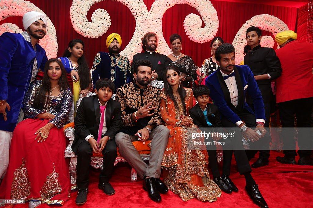 daughter Ajit Kaur and Navraj Singh, son of singer Hans Raj Hans ...