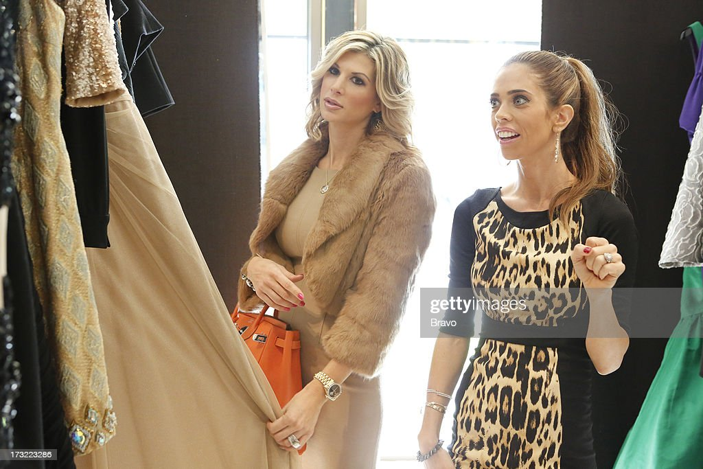 COUNTY-- 'Wedding Dress Stress' Episode 813 -- Pictured: (l-r) Alexis Bellino, Lydia McLaughlin --