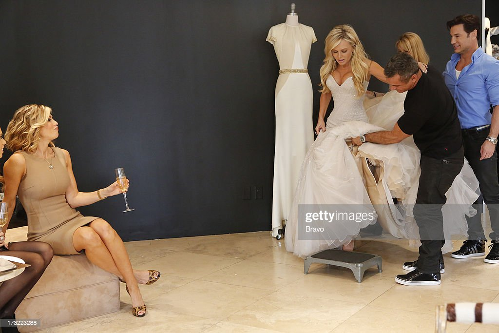 COUNTY-- 'Wedding Dress Stress' Episode 813 -- Pictured: (l-r) Alexis Bellino, Tamra Barney --