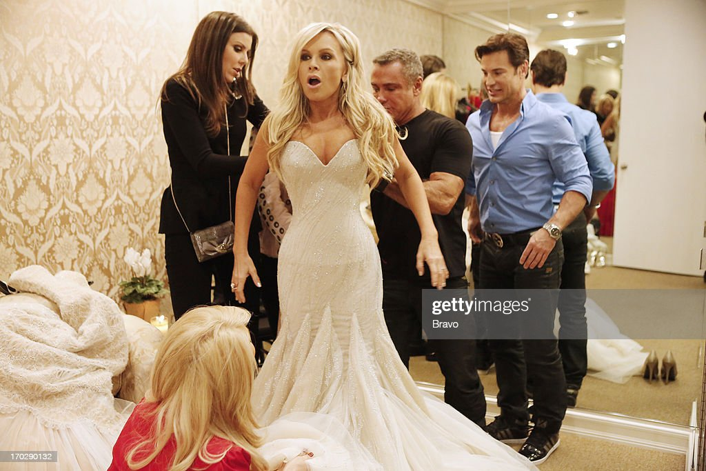 COUNTY-- 'Wedding Dress Stress' Episode 813 -- Pictured: (l-r) Heather Dubrow, Tamra Barney --
