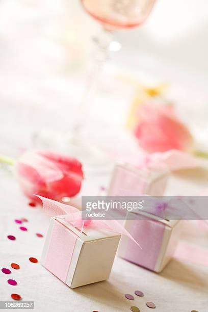 Wedding Favors & Wine Glass