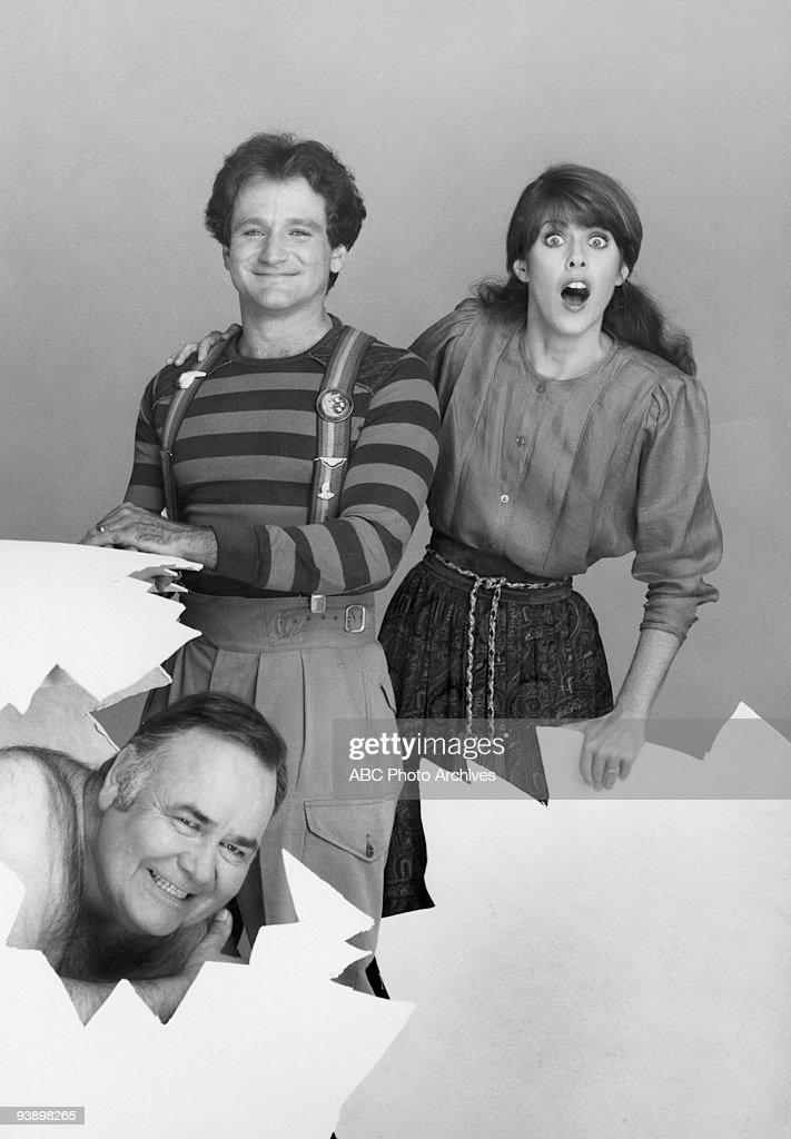 MORK MINDY 'Wedding Gallery' 1981 Jonathan winters Robin Williams Pam Dawber
