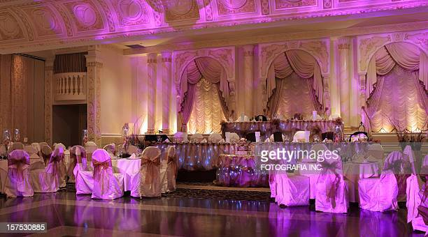 Matrimonio Hall prima di cena